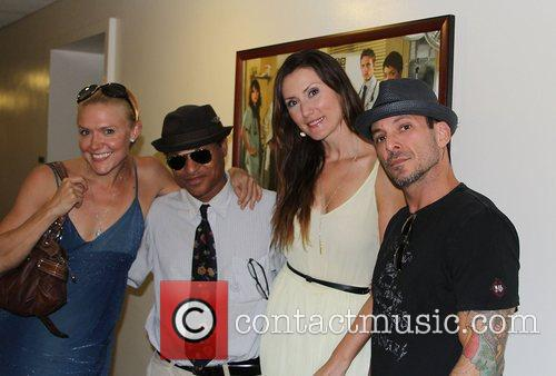 Dominique Swain, Clinton H. Wallace, Leni Rico Rodriguez and Noah Hathaway 4