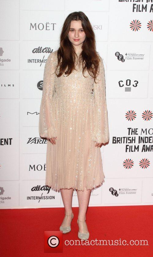 Alice Englert British Independent Film Awards held at...