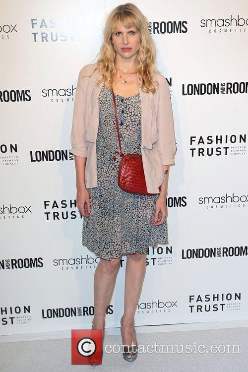 British Fashion Council's LONDON Show ROOMS LA Opening...