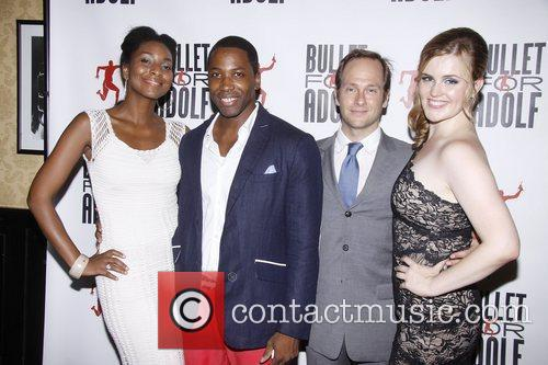 Opening night after party for the Off-Broadway play...