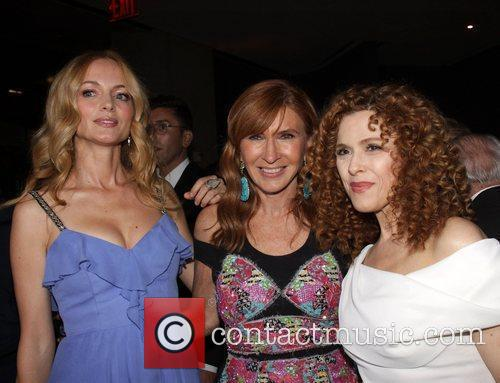 Heather Graham, Bernadette Peters, Nicole Miller and Cfda Fashion Awards 1