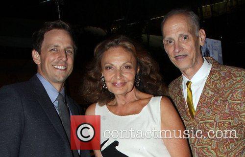 John Waters and Diane Von Furstenberg 7