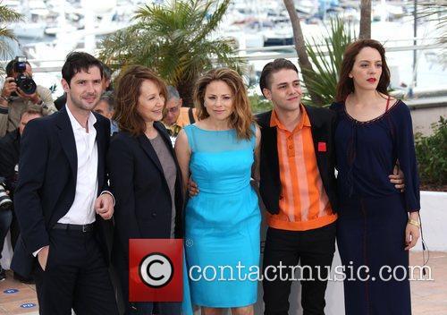 Melvil Poupaud, Nathalie Baye, Xavier and Cannes Film Festival 1
