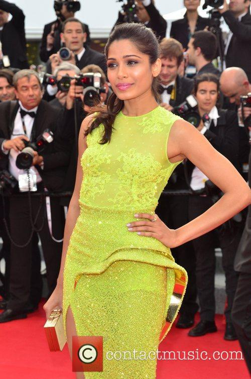 Freida Pinto and Cannes Film Festival 1