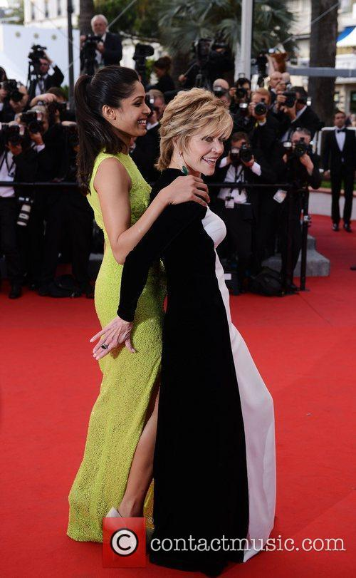 Freida Pinto, Jane Fonda and Cannes Film Festival 2