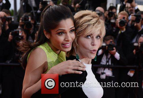 Freida Pinto, Jane Fonda and Cannes Film Festival 3