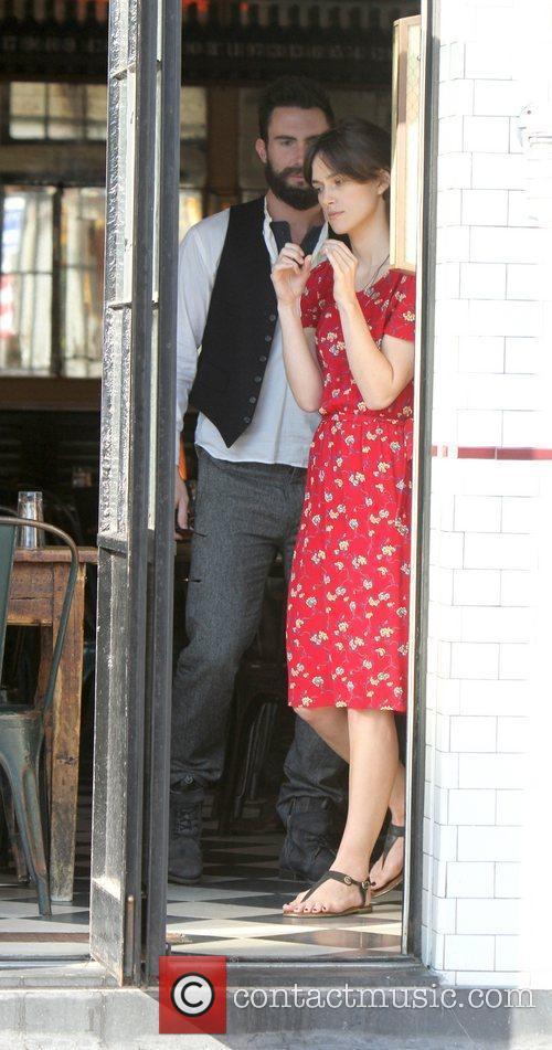 Keira Knightley and Adam Levine 4