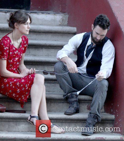 Keira Knightley and Adam Levine 5