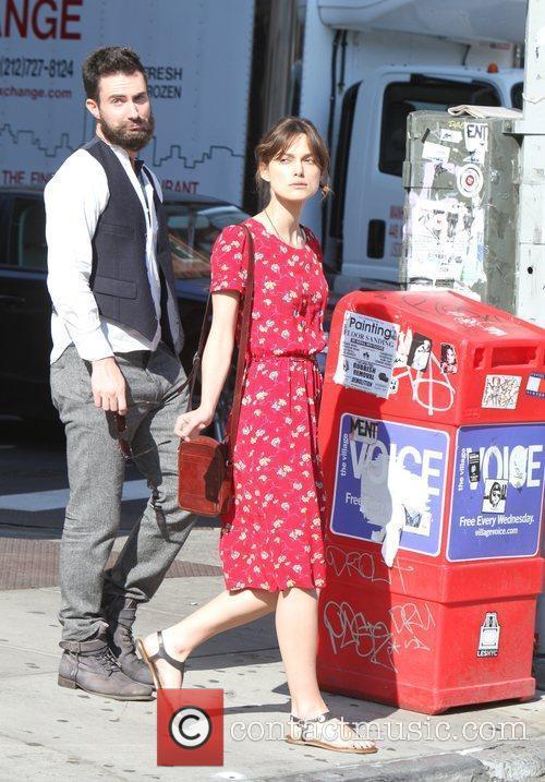 Keira Knightley and Adam Levine 7