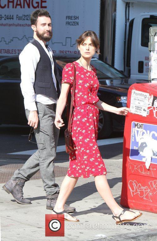 Keira Knightley and Adam Levine 8