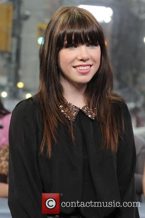 Carly Rae Jepsen  visits Much Music's New.Music.Live...