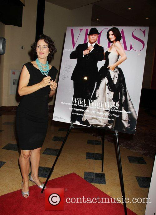 Carrie-Anne Moss Hosts Vegas Magazine's Annual Men's Issue...