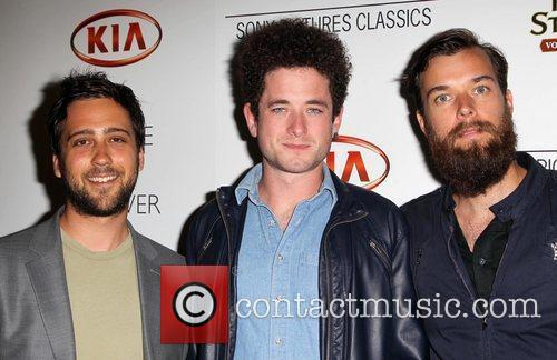 Daniel Wright, Ethan Glazer and Trevor Bahnson of...