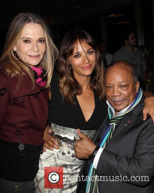Peggy Lipton, Quincy Jones, Rashida Jones