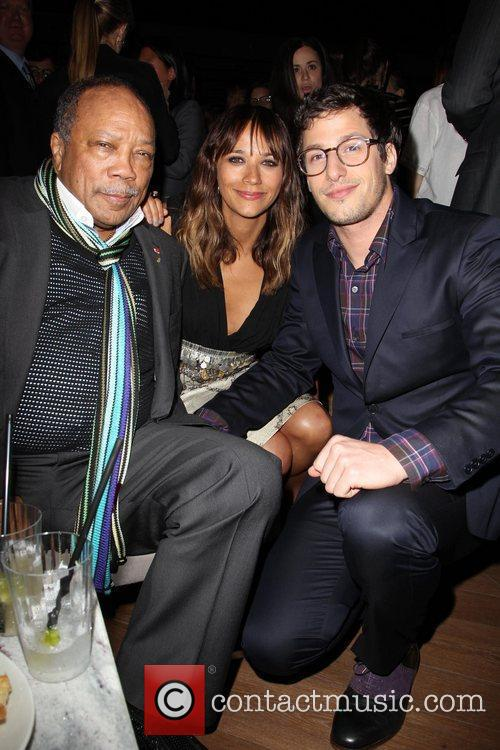 Quincy Jones, Andy Samberg, Rashida Jones