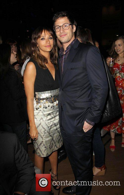 Rashida Jones and Andy Samberg 2