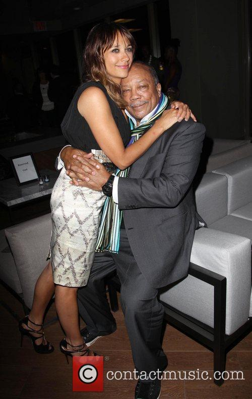 Rashida Jones and Quincy Jones 7