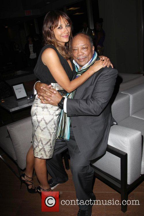 Rashida Jones and Quincy Jones 8