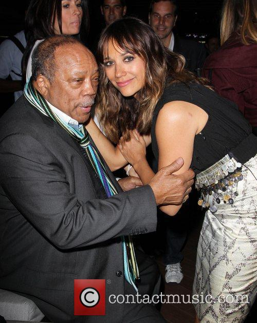 Rashida Jones and Quincy Jones 10