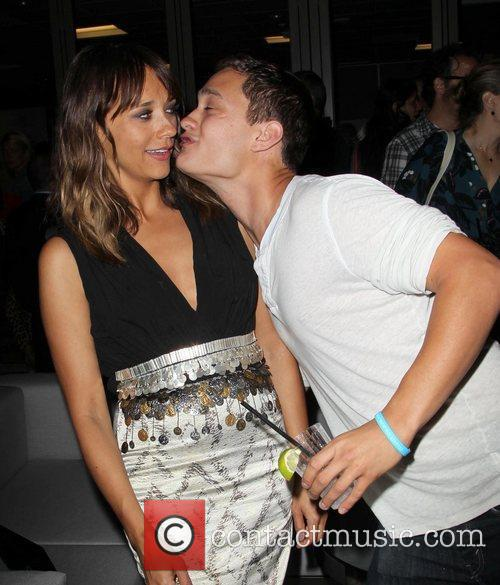 Rashida Jones and Rafi Gavron 1