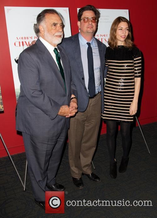 Francis Ford Coppola, Roman Coppola and Sofia Coppola 2