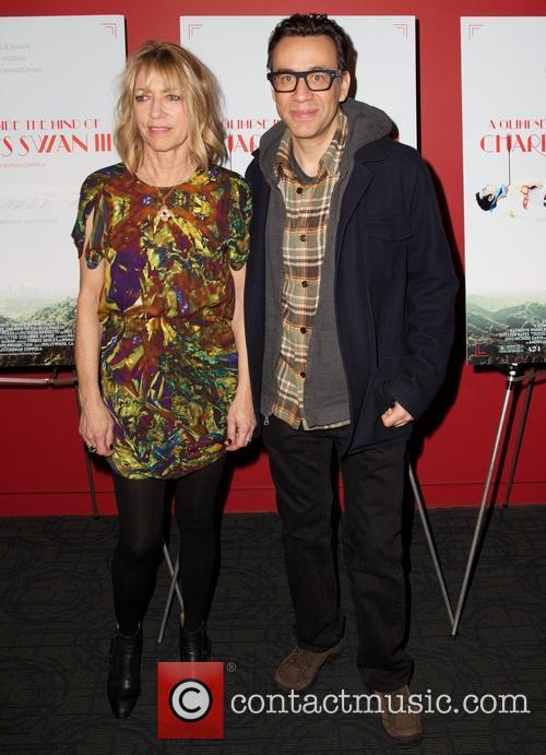 Kim Gordon and Fred Armisen 1