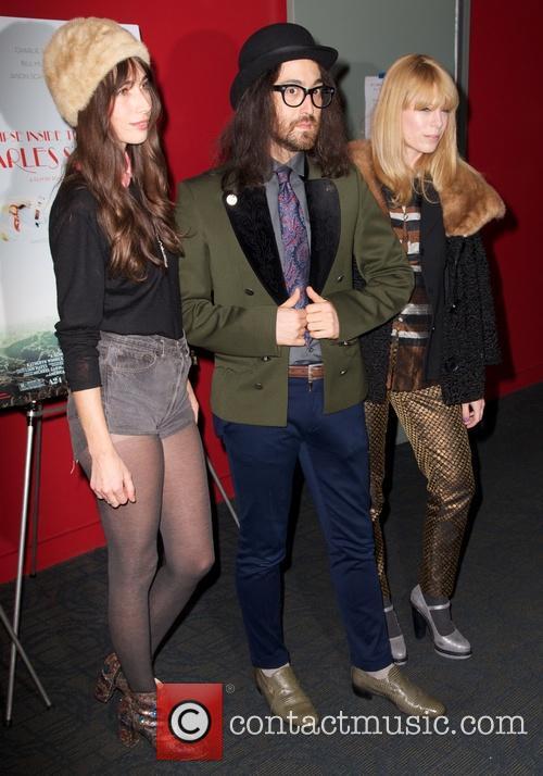 Sean Lennon and Charlotte Kemp Muhl 2