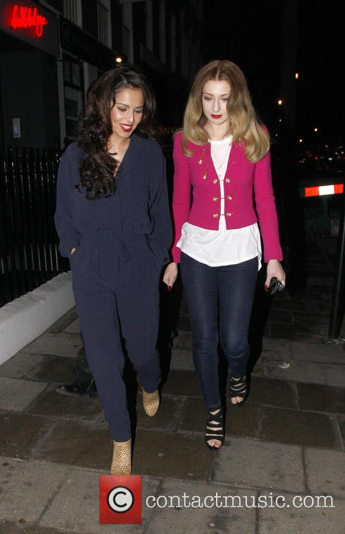 Cheryl Cole and Nicola Roberts 9