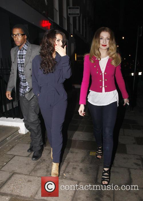 Cheryl Cole and Nicola Roberts 6