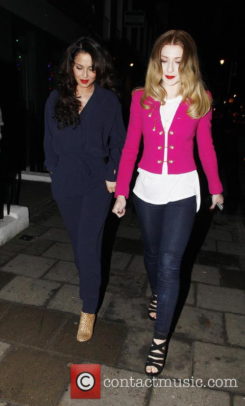 Cheryl Cole and Nicola Roberts 2