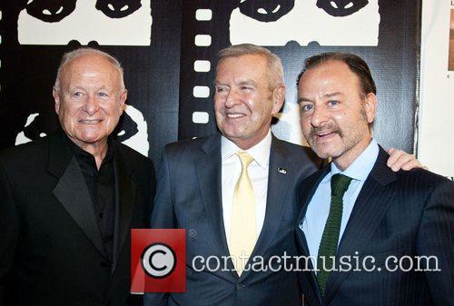 Alan Arkin, Michael Kutza and Fisther Stevens 3
