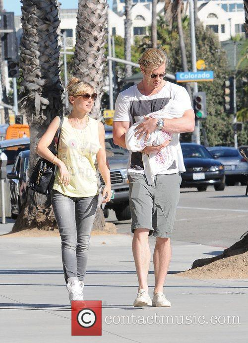 Chris Hemsworth and Elsa Pataky 3