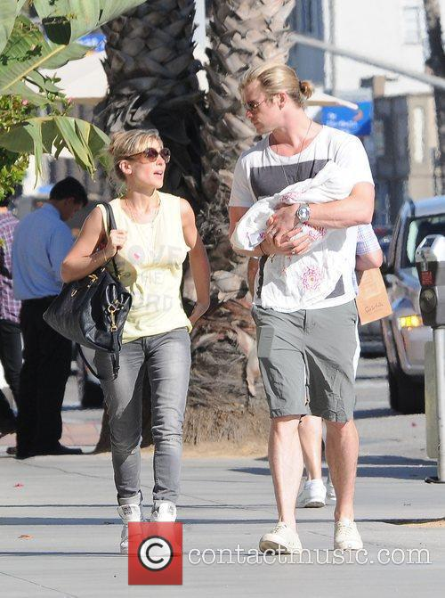 Chris Hemsworth and Elsa Pataky 9