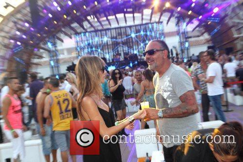 Lord Baltimore designer Christian Audigier and his girlfriend...