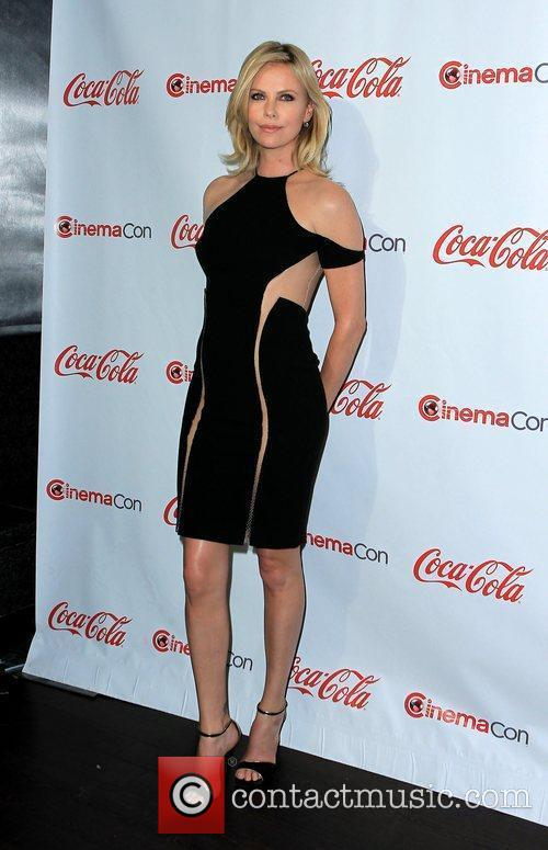 Charlize Theron and Caesars Palace 8