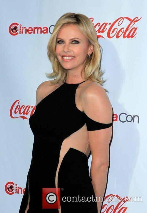 Charlize Theron and Caesars Palace 1