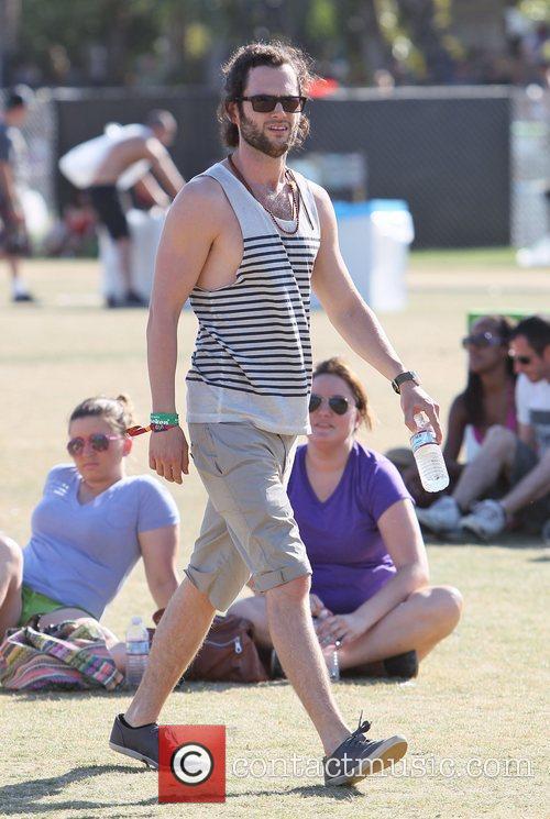 Penn Badgley  Celebrities at the 2012 Coachella...