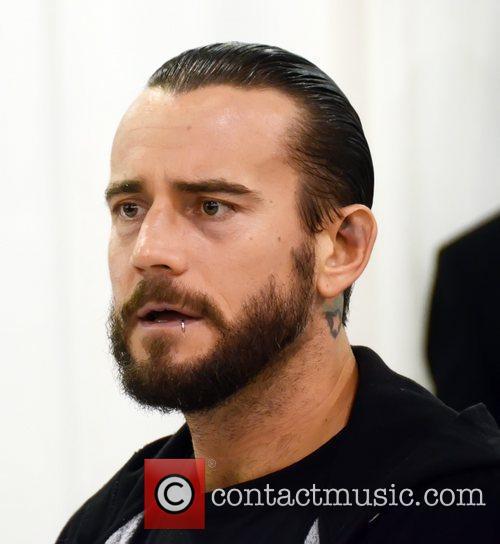 CM Punk Phila Comic Con 2012 at the...
