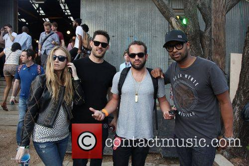 At the Converse Fader Fort During the SXSW