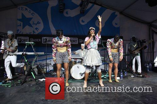 santigold performing at the converse fader fort 3780512