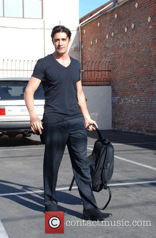 Leaving the 'Dancing With the Stars' rehearsal studio