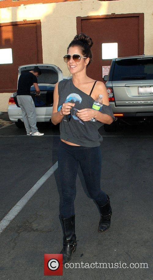 Kelly Monaco leaving the 'Dancing With the Stars'...