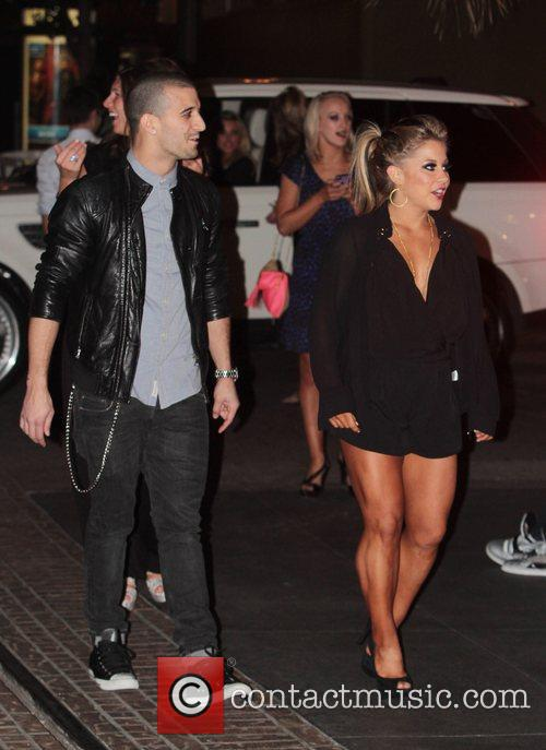 Mark Ballas and Shawn Johnson 2