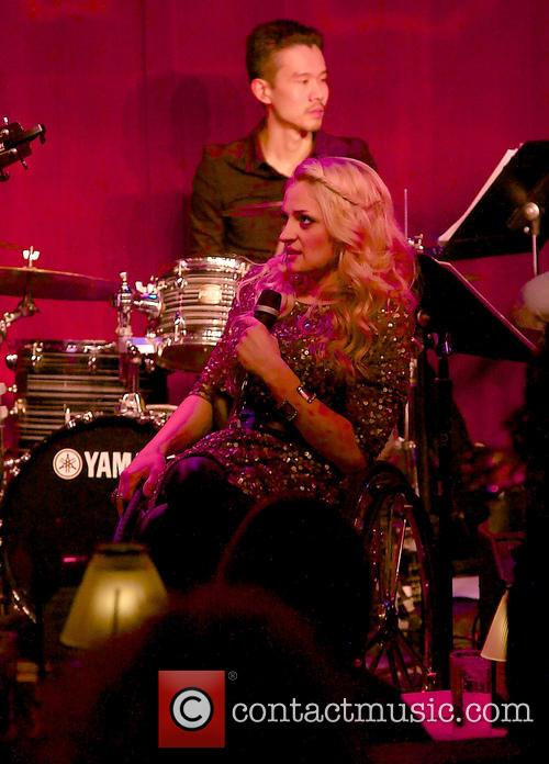 Dani Shay and Ali Stroker performing live in...