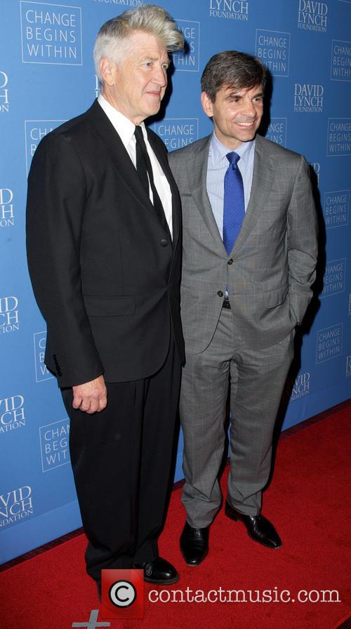 David Lynch and George Stephanopoulos 5