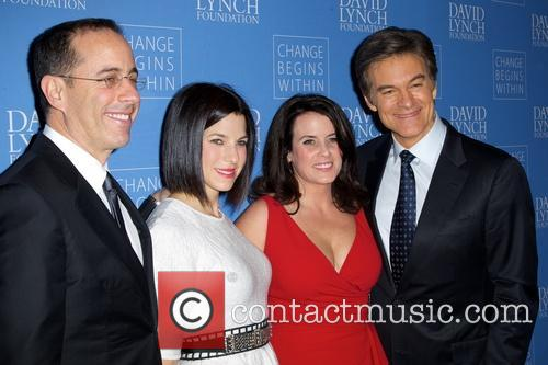 Jerry Seinfeld, Jessica Seinfeld, Lisa Oz, Dr and Mehmet Oz 2