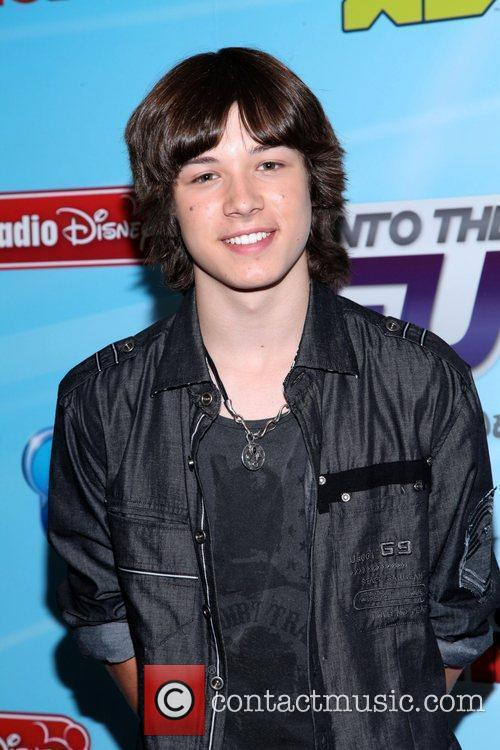 Leo Howard and Times Square 6