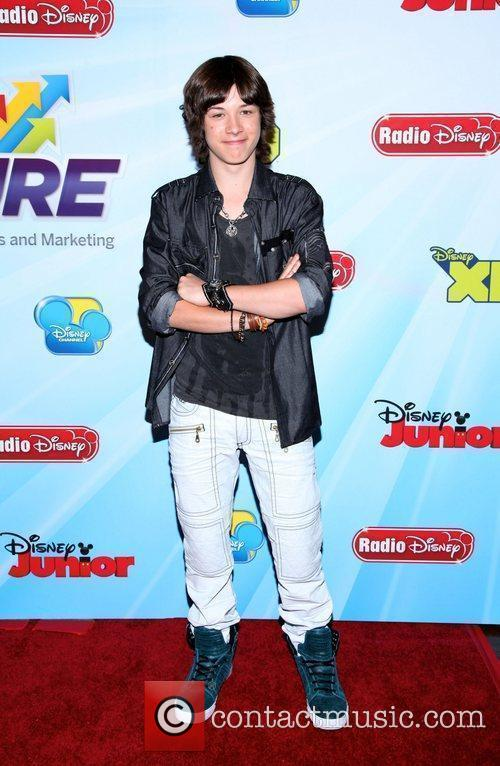 Leo Howard and Times Square 11
