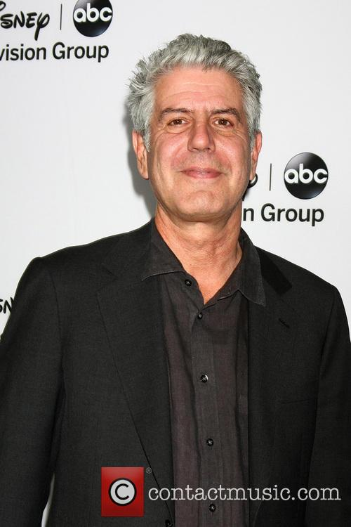 Anthony Bourdain at the ABC TCA Winter Party