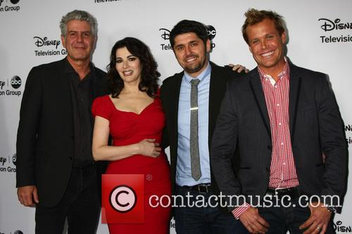 Anthony Bourdain, Nigella Lawson, Ludo Lefebvre and Brian Malarkey